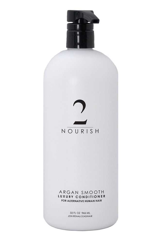 Argan Smooth Luxury Conditioner, 32oz / 1 Liter