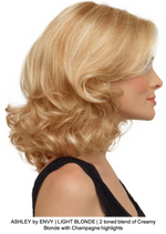 ASHLEY by ENVY | LIGHT BLONDE | 2 toned blend of Creamy Blonde with Champagne highlights