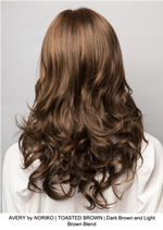 AVERY by NORIKO | TOASTED BROWN | Dark Brown and Light Brown Blend