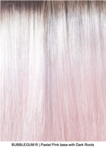 BUBBLEGUM R | Pastel Pink base with Dark Roots