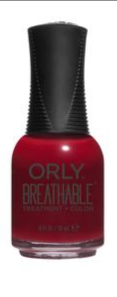 Namaste Healthy Breathable Nail Lacquer | Brick Red Crème