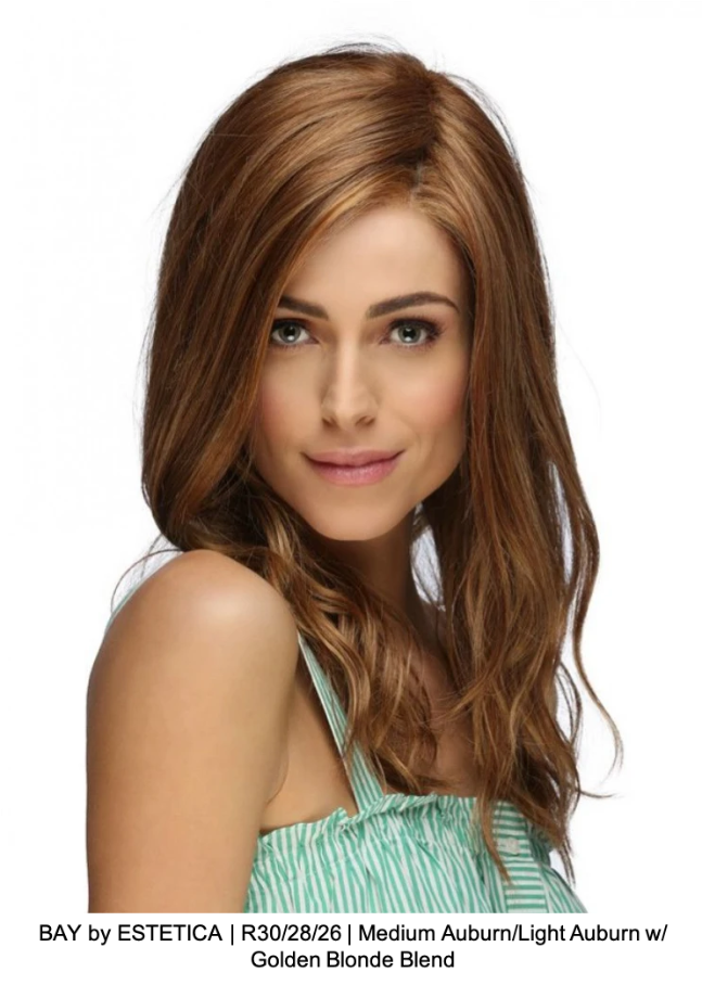 BAY by ESTETICA | R30/28/26 | Medium Auburn/Light Auburn w/ Golden Blonde Blend