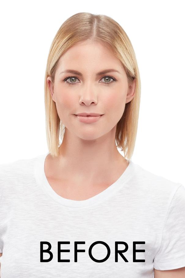 "Top Form 12"" Remy Human Hair Topper (Mono Top)"
