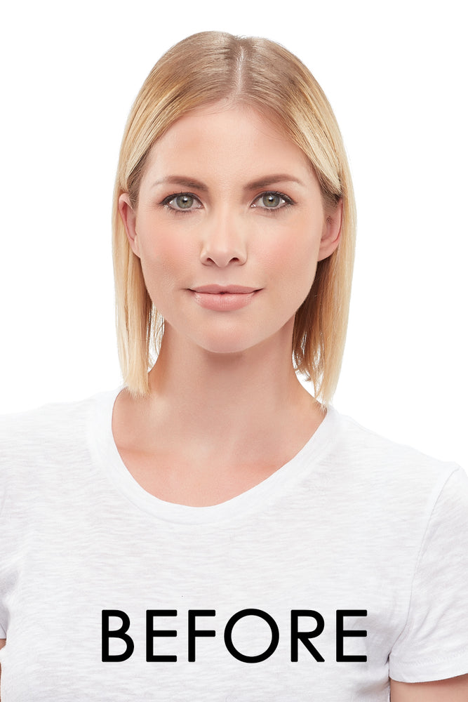 "Top Form 12"" Exclusive Remy Human Hair Topper (Mono Base)"