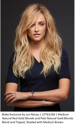 Blake Exclusive Remy Human Hair Lace Front Wig (Hand-Tied)