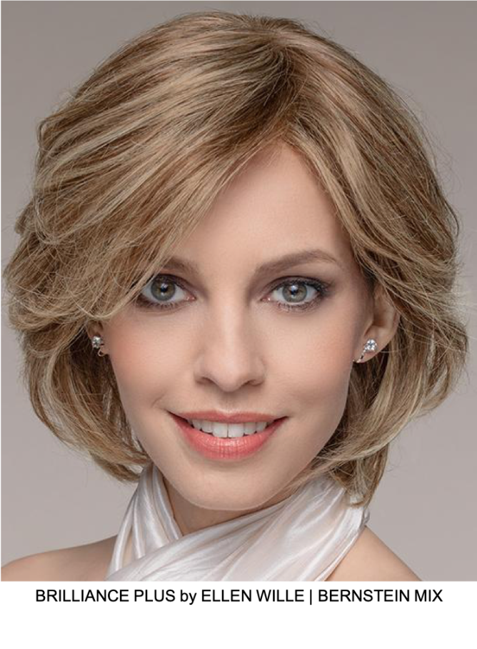 Brilliance Plus Remy Human Hair Lace Front Wig (Hand-Tied)