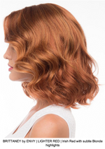 BRITTANEY by ENVY | LIGHTER RED | Irish Red with subtle Blonde highlights