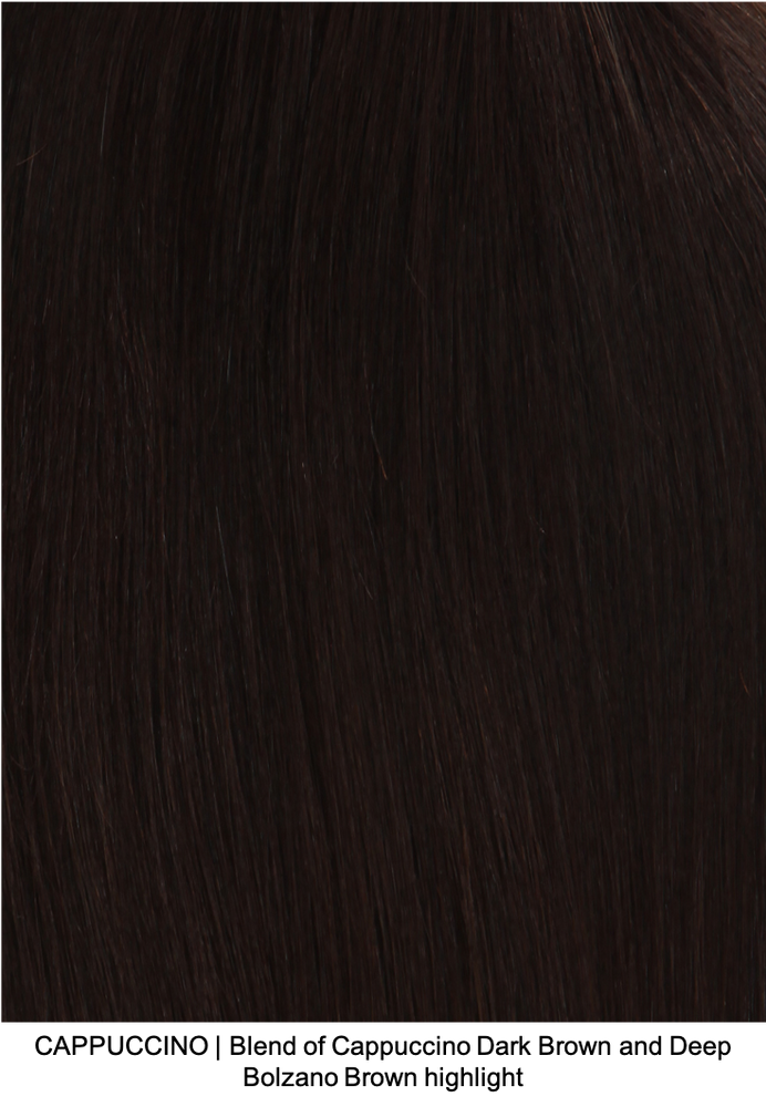 CAPPUCCINO | Blend of Cappuccino Dark Brown and Deep Bolzano Brown highlight