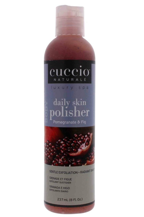 Cuccio Naturalé Pomegranate & Fig Daily Skin Polisher, 8floz