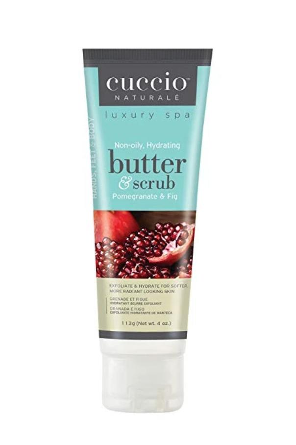 Cuccio Pomegranate & Fig Butter Scrub, 4 oz.