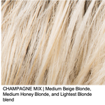 CHAMPAGNE MIX | Medium Beige Blonde, Medium Honey Blonde, and Lightest Blonde blend