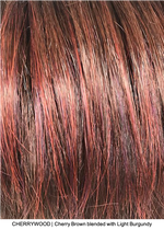 CHERRYWOOD | Cherry Brown blended with Light Burgundy