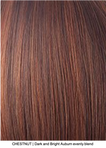 CHESTNUT | Dark and Bright Auburn evenly blend