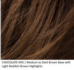 CHOCOLATE MIX | Medium to Dark Brown base with Light Reddish Brown highlights