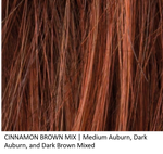 CINNAMON BROWN MIX | Medium Auburn, Dark Auburn, and Dark Brown Mixed