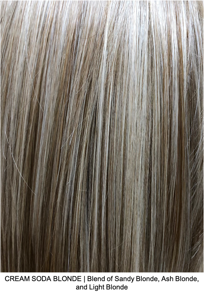 CREAM SODA BLONDE | Blend of Sandy Blonde, Ash Blonde, and Light Blonde