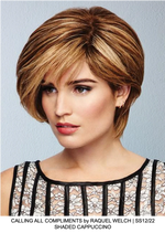 Calling All Compliments Remy Human Hair Lace Front Wig (Hand-Tied)