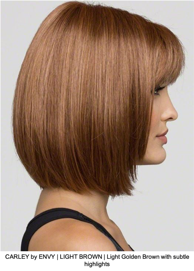 CARLEY by ENVY | LIGHT BROWN | Light Golden Brown with subtle highlights