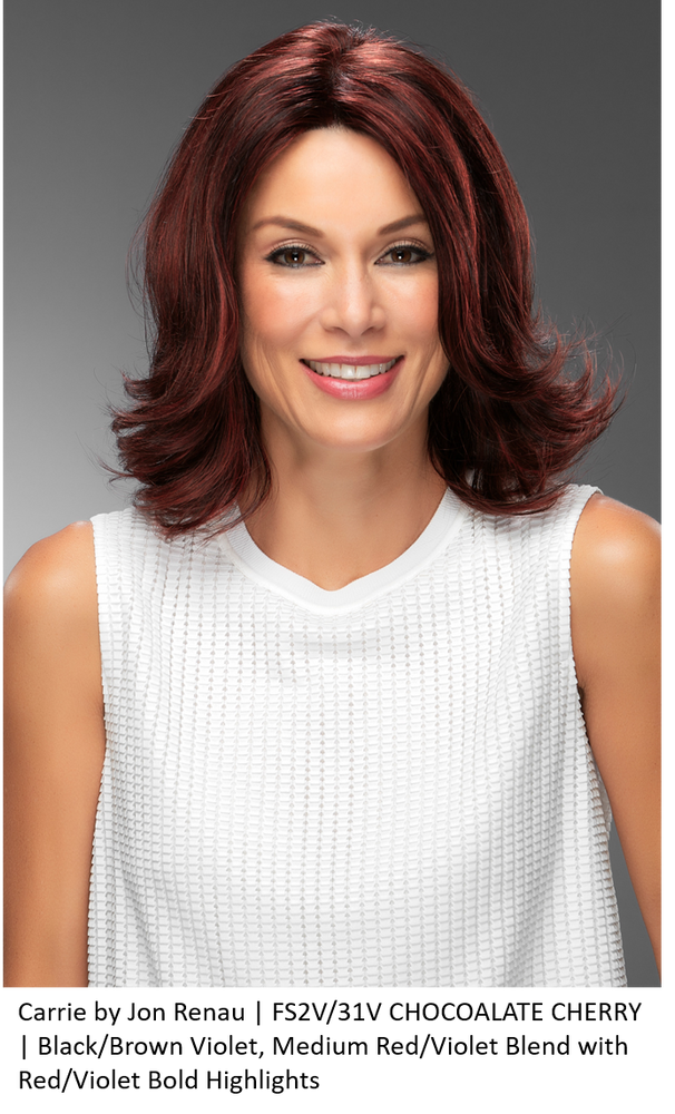 Carrie Human Hair Lace Front Wig (Mono Top)