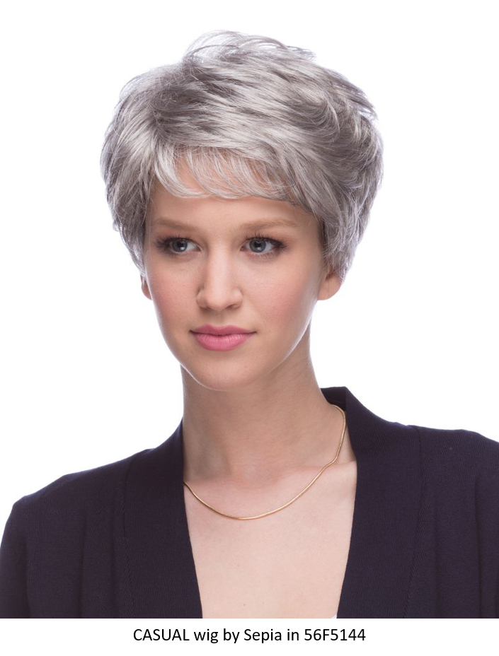 Casual Synthetic Wig (Basic Cap)
