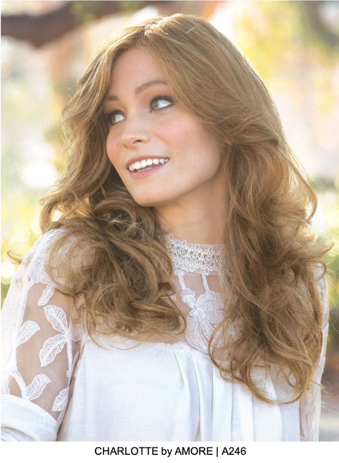Charlotte Wavy Human Hair Lace Front Wig (Mono Top) | DISCONTINUED