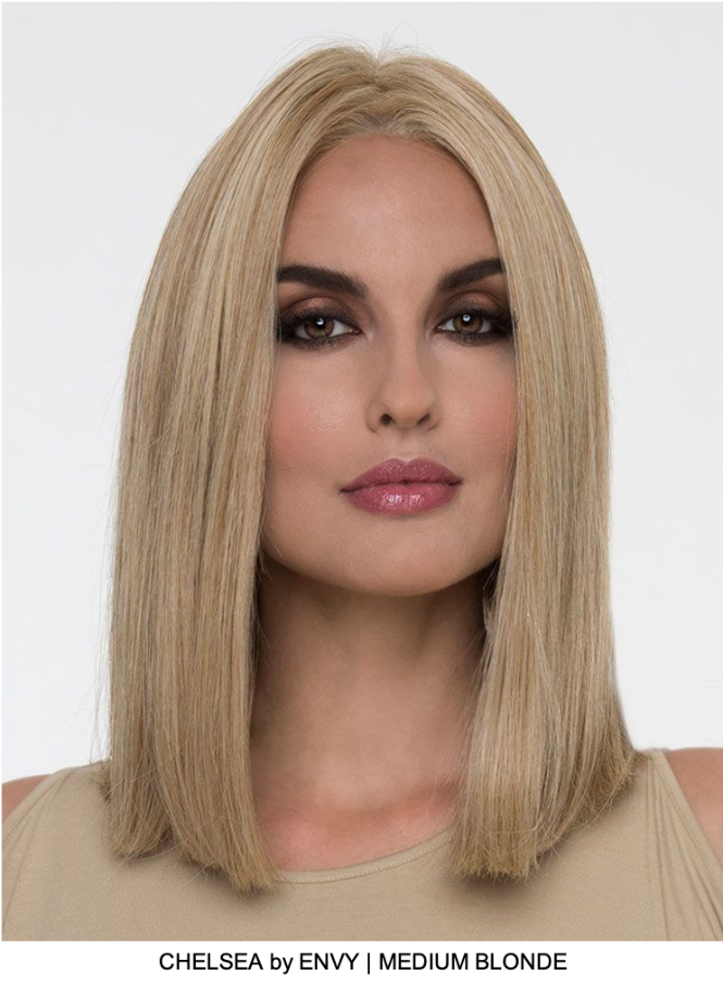 Chelsea Human Hair / HF Synthetic Blend Lace Front Wig (Mono Top)