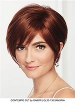 Contempo Cut Synthetic Lace Front Wig (Mono Part)