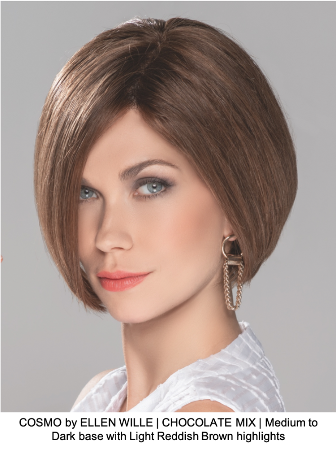 COSMO by ELLEN WILLE | CHOCOLATE MIX | Medium to Dark base with Light Reddish Brown highlights