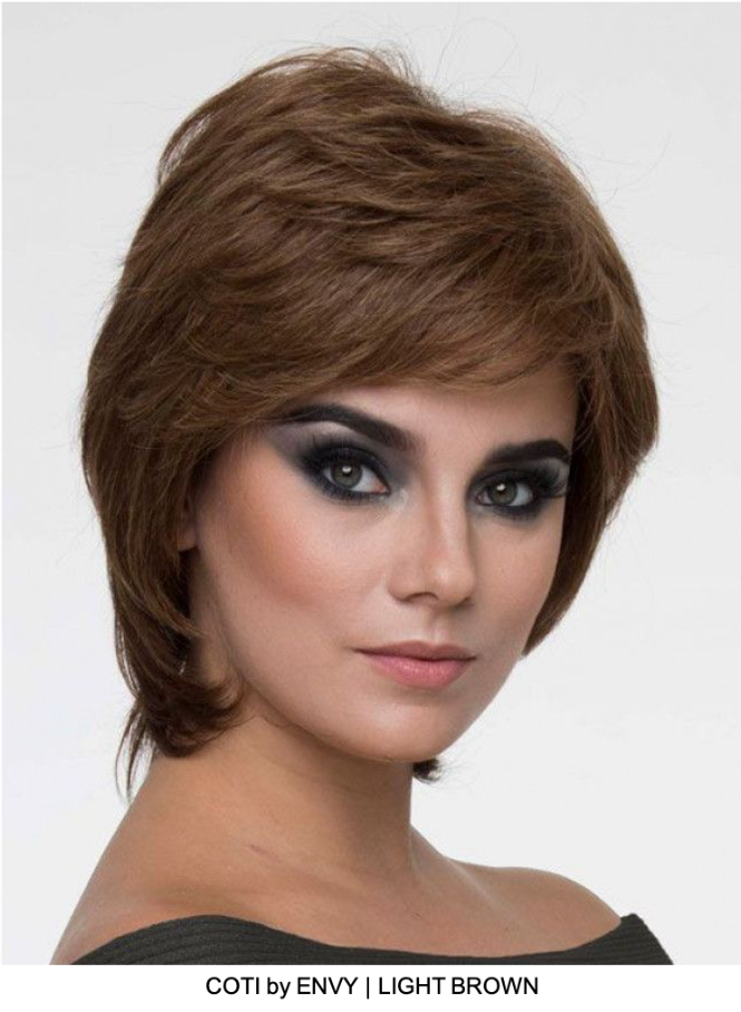 Coti Human Hair / HF Synthetic Blend Lace Front Wig (Mono Top)