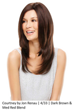 Courtney Synthetic Lace Front Wig (Mono Top)