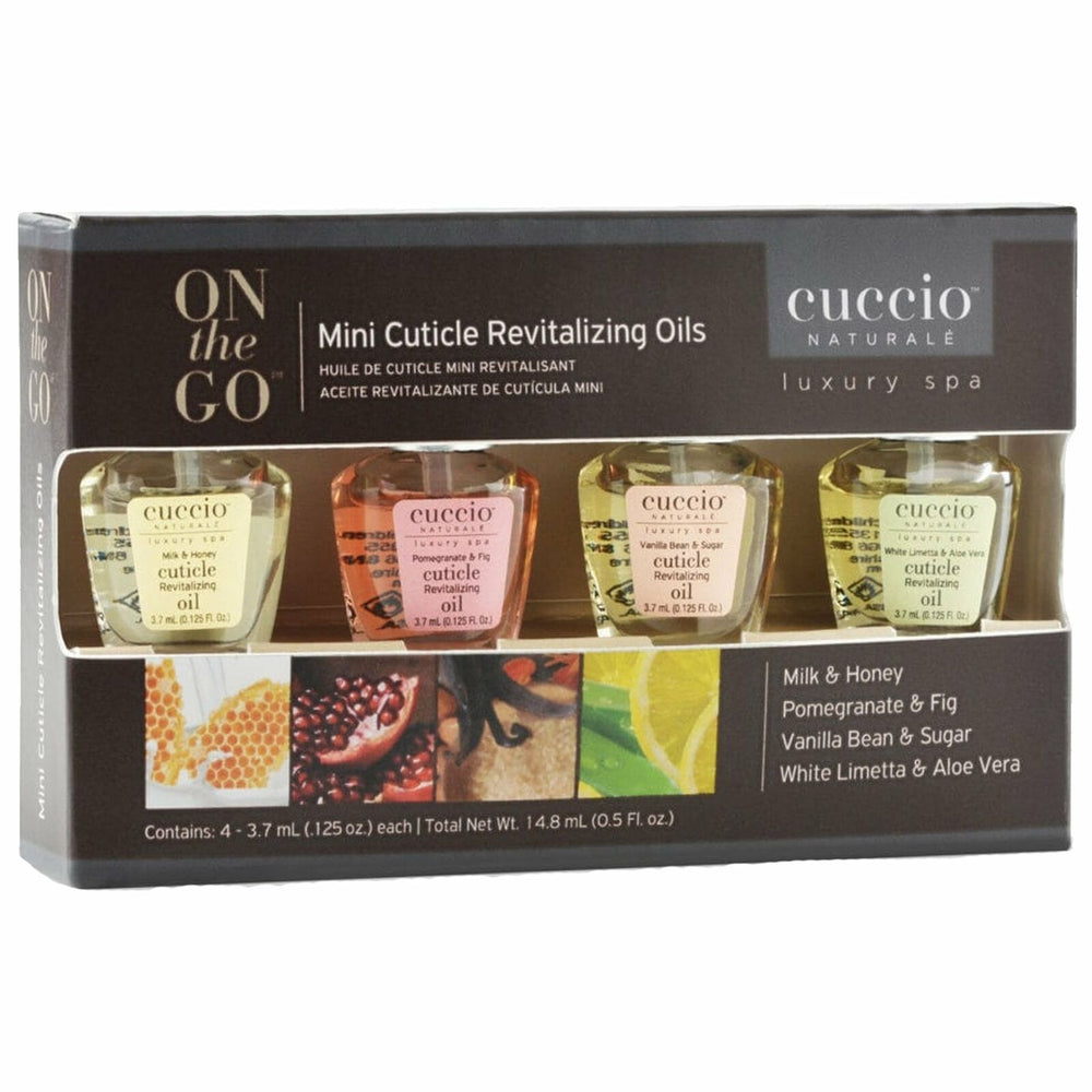 Mini Cuticle Revitalizing Oils, 4 -3.7ml each