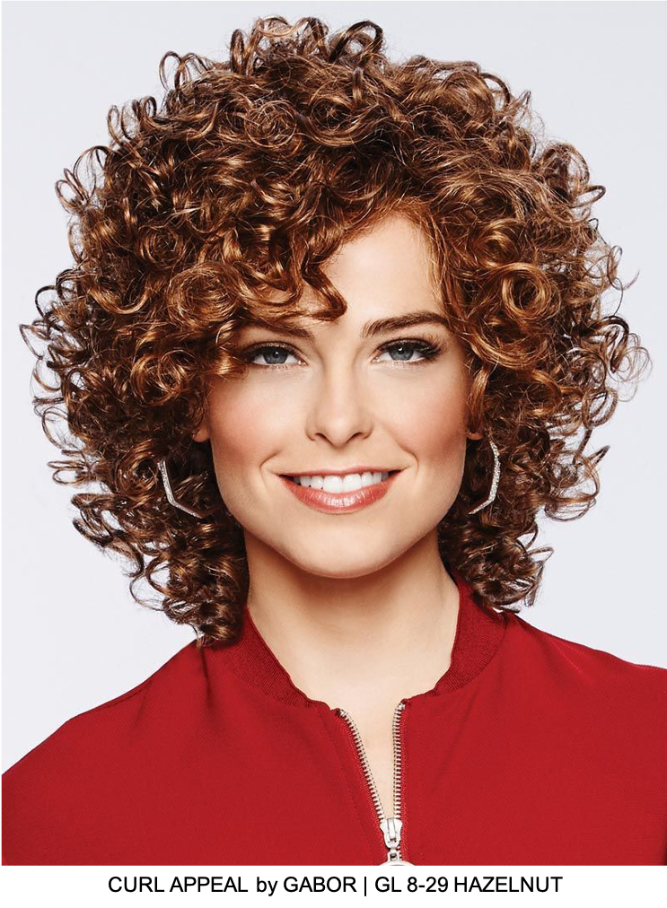 Curl Appeal Synthetic Lace Front Wig (Basic Cap)