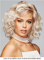 Curl Up Synthetic Lace Front Wig