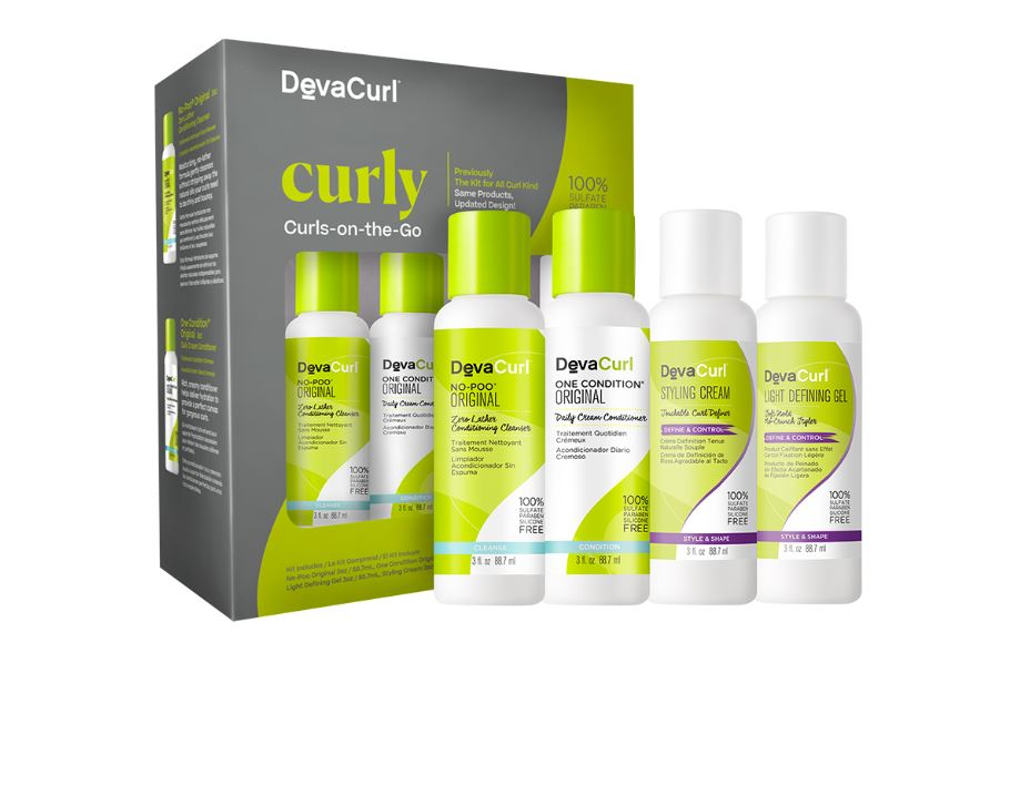 Curly Curls-On-The-Go Kit