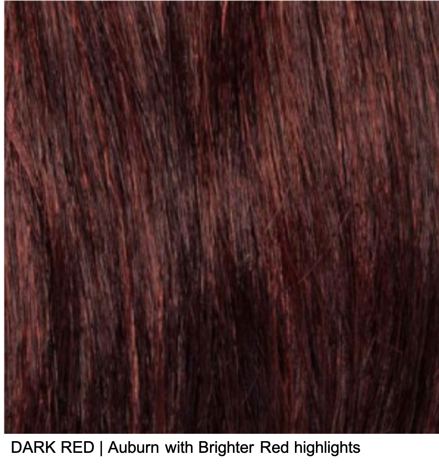 DARK RED | Auburn with Brighter Red highlights