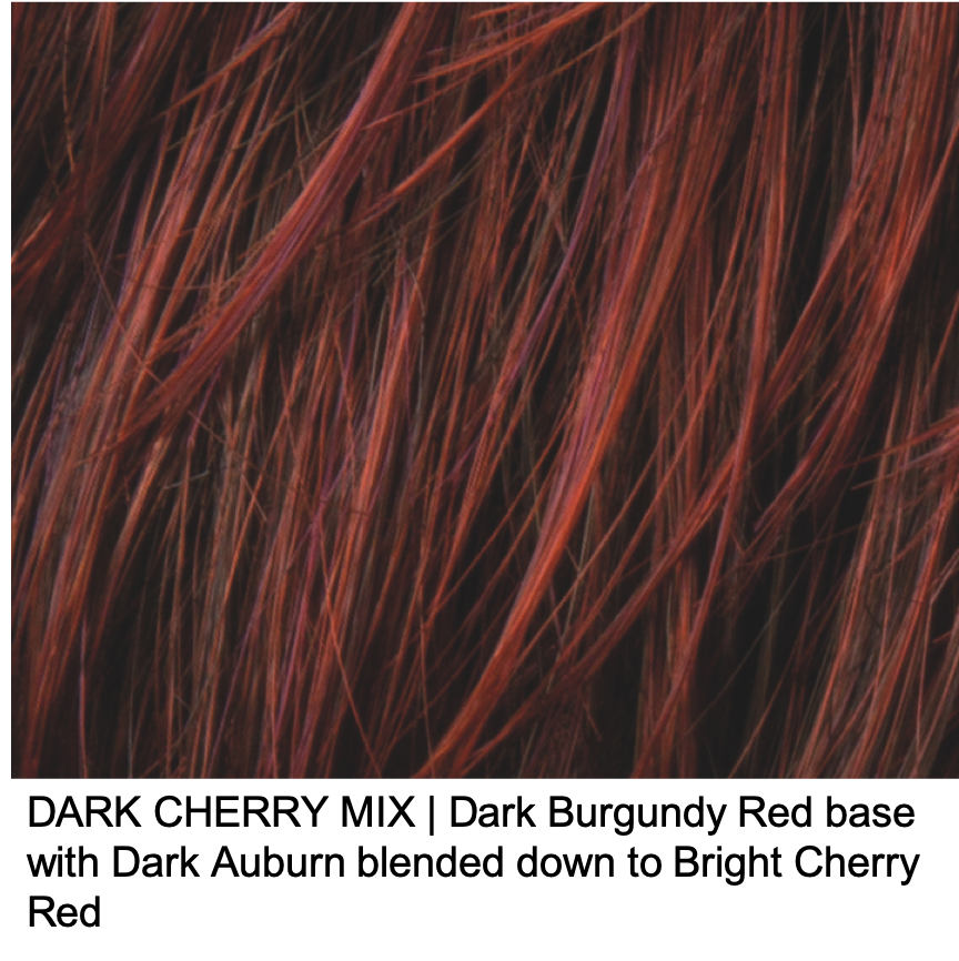 DARK CHERRY MIX | Dark Burgundy Red base with Dark Auburn blended down to Bright Cherry Red