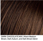 DARK CHOCOLATEMIX | Warm Medium Brown, Dark Auburn, and Dark Brown blend