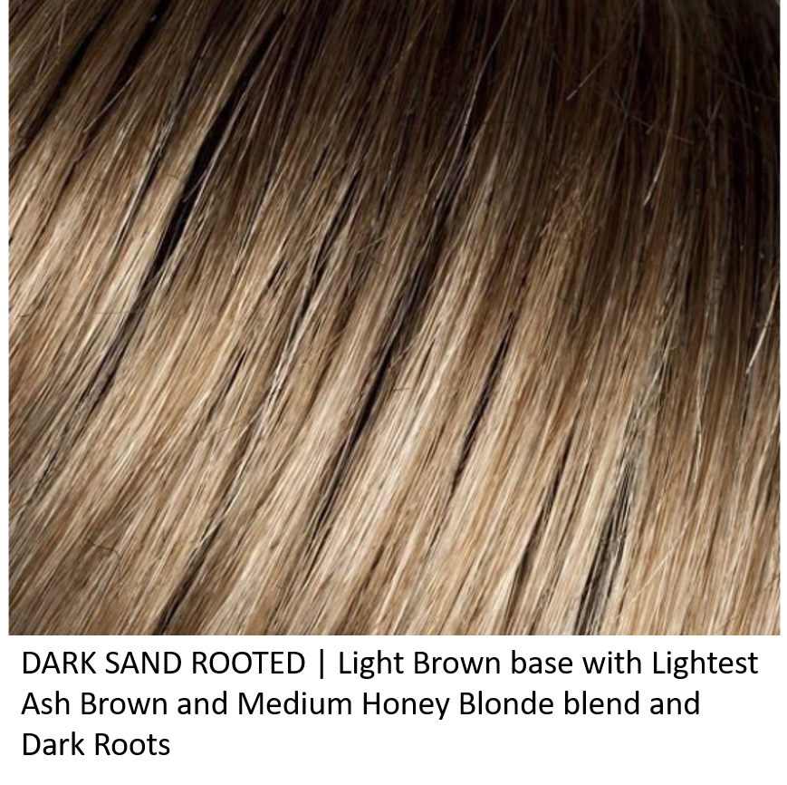 Dark Sand Mix | Light Brown base with Lightest Ash Brown and Medium Honey Blonde blend