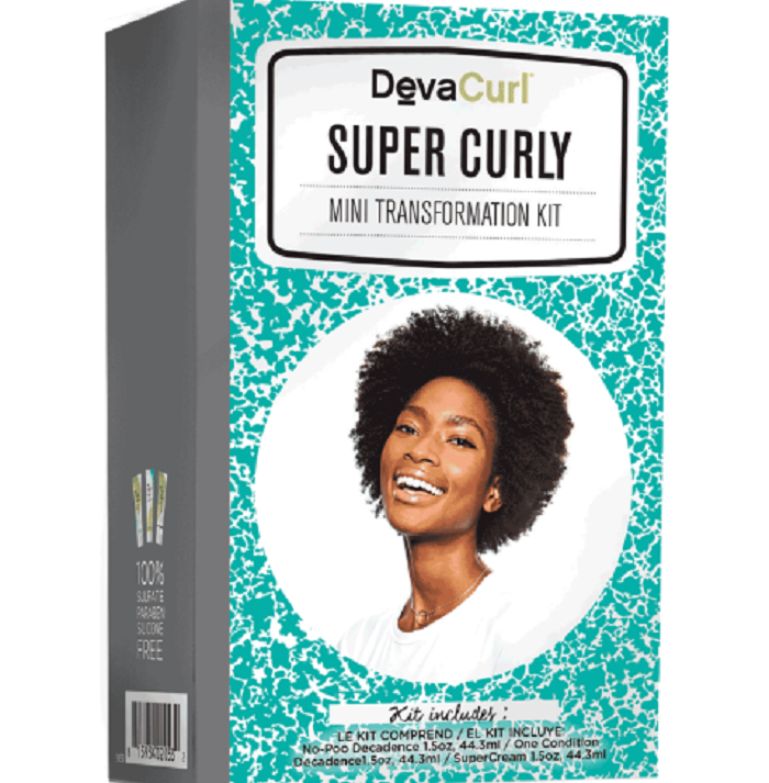 Super Curly Mini Transformation Kit