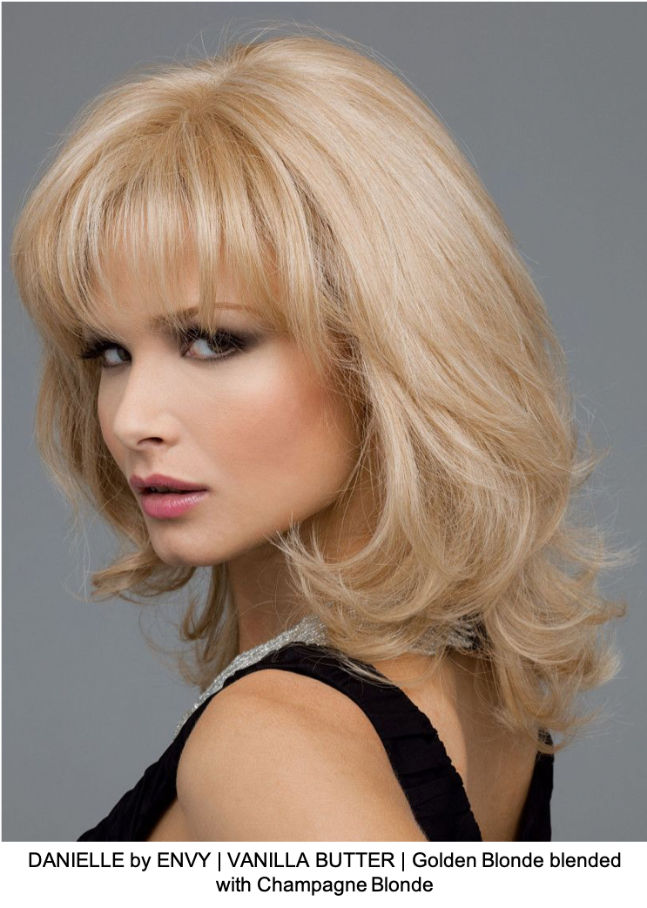 DANIELLE by ENVY | VANILLA BUTTER | Golden Blonde blended with Champagne Blonde