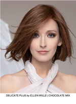 Delicate Plus Remy Human Hair Lace Front Wig (Hand-Tied)