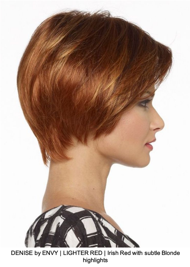 DENISE by ENVY | LIGHTER RED | Irish Red with subtle Blonde highlights