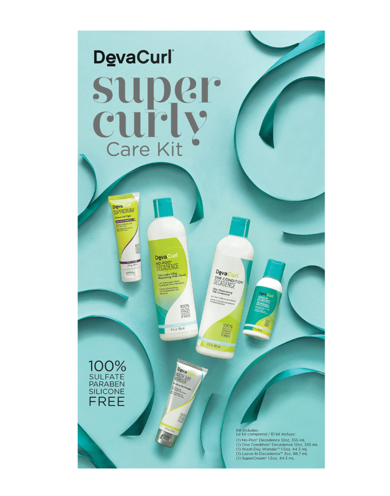 DevaCurl Super Curly Care Kit (5 Piece Kit)