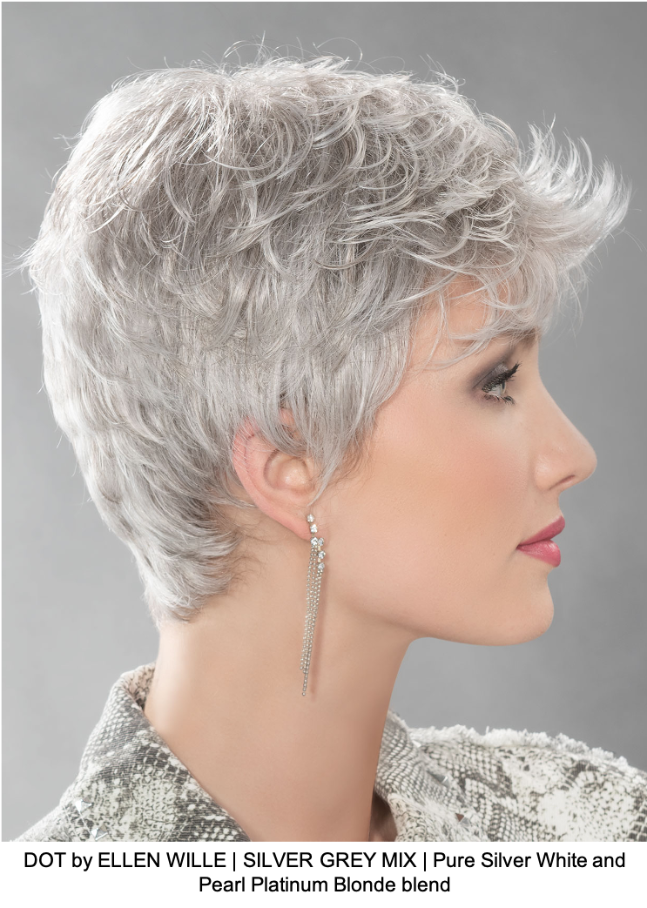 DOT by ELLEN WILLE | SILVER GREY MIX | Pure Silver White and Pearl Platinum Blonde blend