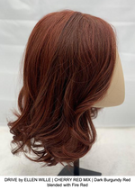 DRIVE by ELLEN WILLE | CHERRY RED MIX | Dark Burgundy Red blended with Fire Red
