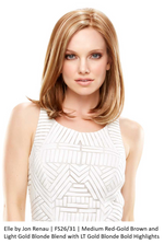 Elle Synthetic Lace Front Wig (Mono Top)