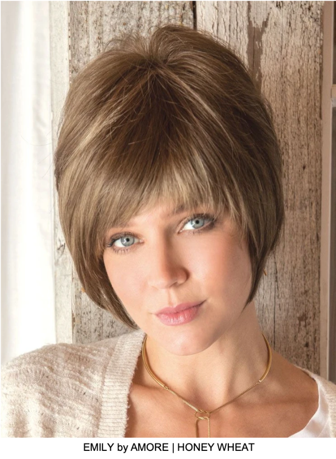 Emily Synthetic Wig (Mono Top)