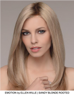 Emotion Remy Human Hair Lace Front Wig (Hand-Tied)