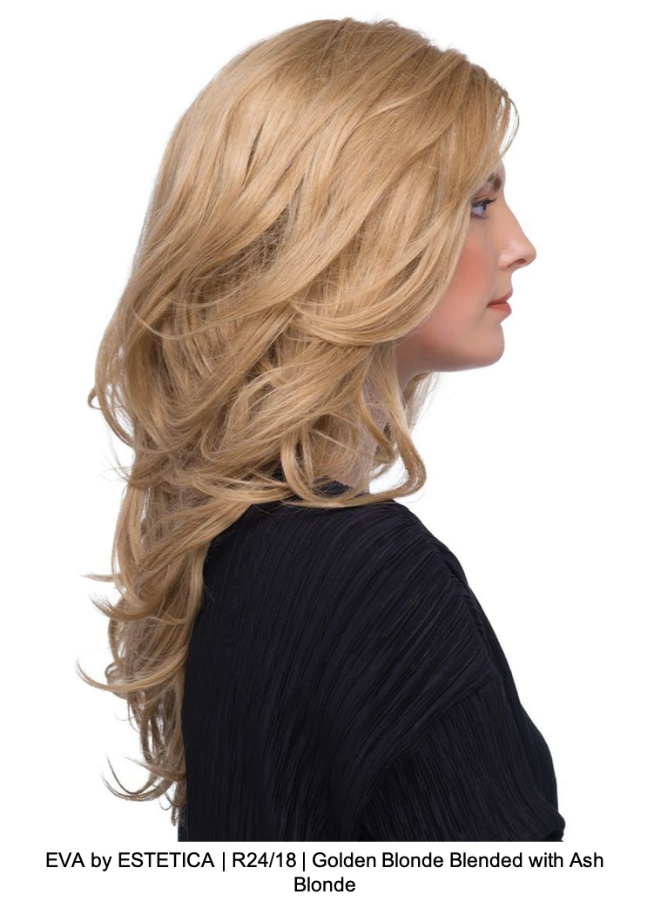 EVA by ESTETICA | R24/18 | Golden Blonde Blended with Ash Blonde