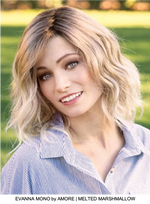 Evanna Mono Synthetic Lace Front Wig (Mono Top)